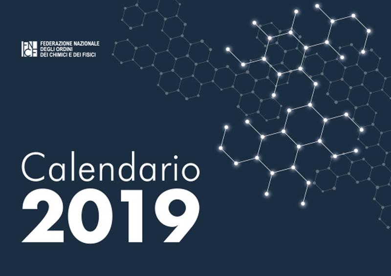 Copertina calendario FNCF 2019