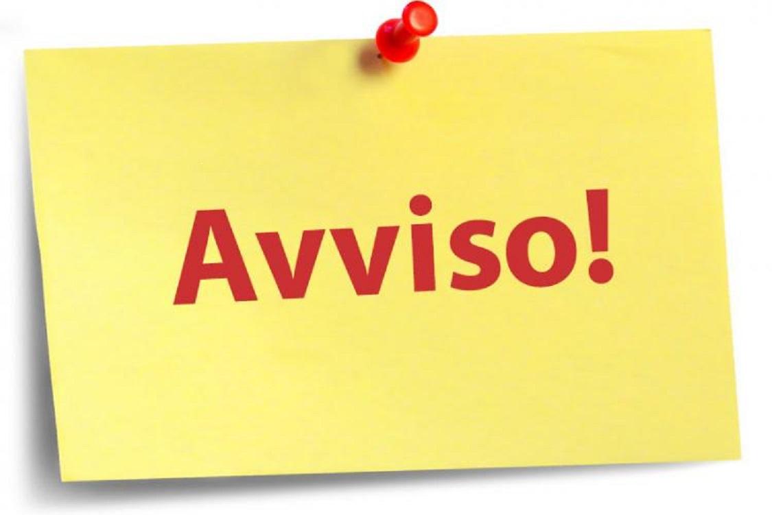 Post it Avviso