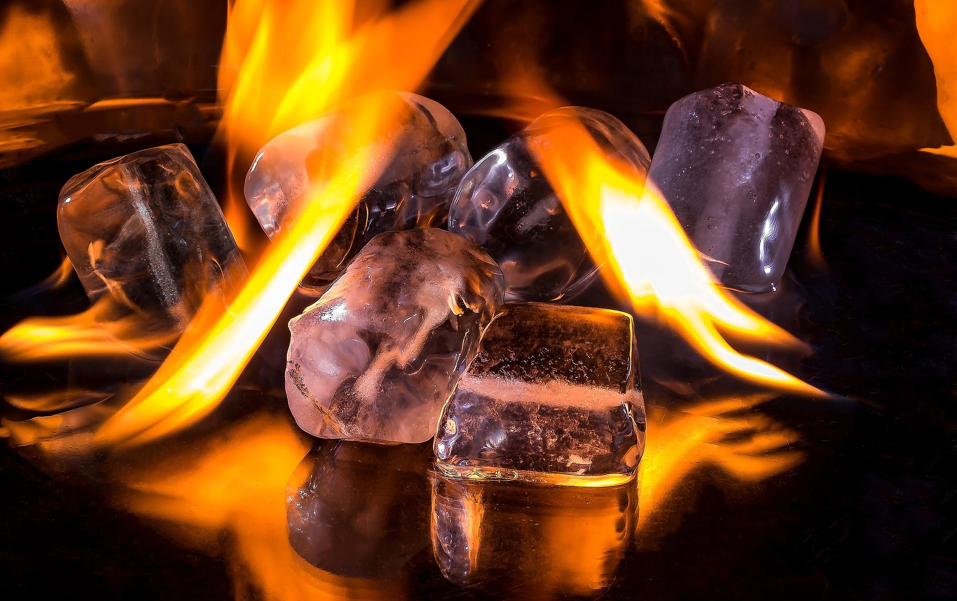 fuoco e ghiaccio